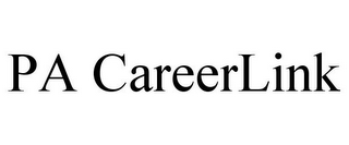 mark for PA CAREERLINK, trademark #77074894