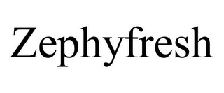 mark for ZEPHYFRESH, trademark #77077363