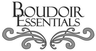mark for BOUDOIR ESSENTIALS, trademark #77077737