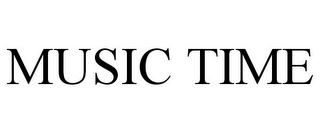 mark for MUSIC TIME, trademark #77077920