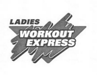 mark for LADIES WORKOUT EXPRESS, trademark #77078058