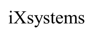 mark for IXSYSTEMS, trademark #77078995