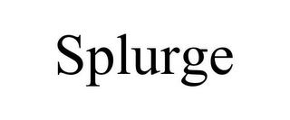 mark for SPLURGE, trademark #77079190