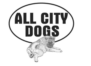 mark for ALL CITY DOGS, trademark #77079350
