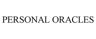 mark for PERSONAL ORACLES, trademark #77079524