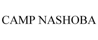 mark for CAMP NASHOBA, trademark #77080554