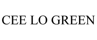 mark for CEE LO GREEN, trademark #77080933