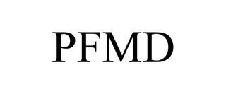 mark for PFMD, trademark #77081779