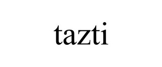 mark for TAZTI, trademark #77084232