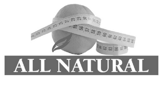 mark for ALL NATURAL, trademark #77084744