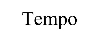 mark for TEMPO, trademark #77085118