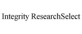 mark for INTEGRITY RESEARCHSELECT, trademark #77085530