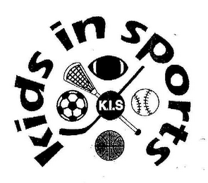 mark for K.I.S. KIDS IN SPORTS, trademark #77085763