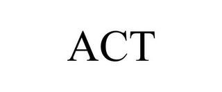 mark for ACT, trademark #77088160