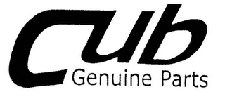 mark for CUB GENUINE PARTS, trademark #77088657