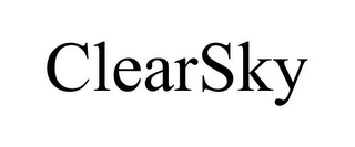 mark for CLEARSKY, trademark #77088666
