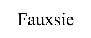 mark for FAUXSIE, trademark #77089143