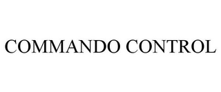 mark for COMMANDO CONTROL, trademark #77090974
