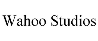 mark for WAHOO STUDIOS, trademark #77091083