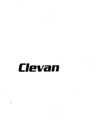 mark for CLEVAN, trademark #77091761