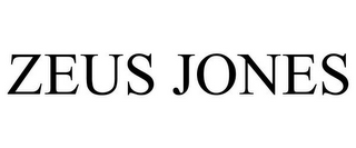 mark for ZEUS JONES, trademark #77091824