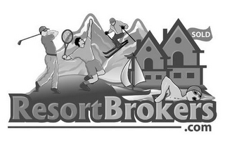 mark for RESORTBROKERS.COM SOLD, trademark #77094229