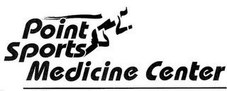 mark for POINT SPORTS MEDICINE CENTER, trademark #77094697