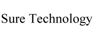 mark for SURE TECHNOLOGY, trademark #77095231