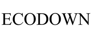 mark for ECODOWN, trademark #77095493
