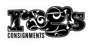 mark for RAGS CONSIGNMENTS, trademark #77097178