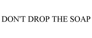 mark for DON'T DROP THE SOAP, trademark #77097900