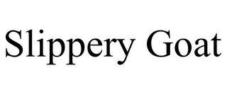 mark for SLIPPERY GOAT, trademark #77099406