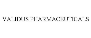 mark for VALIDUS PHARMACEUTICALS, trademark #77100210