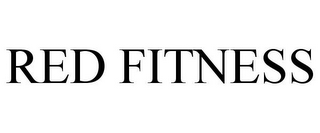 mark for RED FITNESS, trademark #77100728