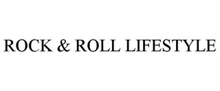 mark for ROCK & ROLL LIFESTYLE, trademark #77101935