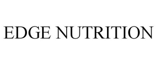 mark for EDGE NUTRITION, trademark #77102749