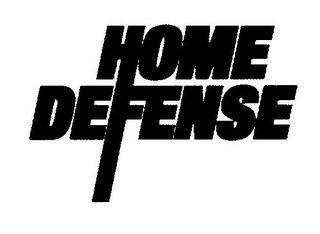 mark for HOME DEFENSE, trademark #77102762