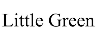mark for LITTLE GREEN, trademark #77104080