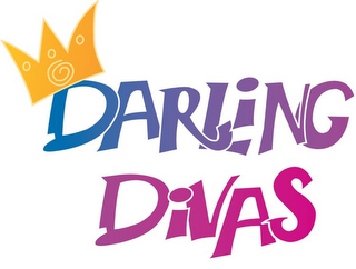 mark for DARLING DIVAS, trademark #77104112