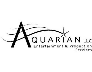 mark for AQUARIAN LLC ENTERTAINMENT & PRODUCTIONSERVICES, trademark #77104845