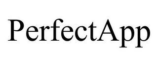 mark for PERFECTAPP, trademark #77106536