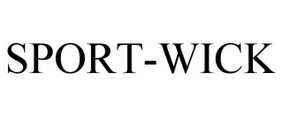 mark for SPORT-WICK, trademark #77106573