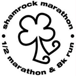 mark for SHAMROCK MARATHON 1/2 MARATHON & 8K RUN, trademark #77107452