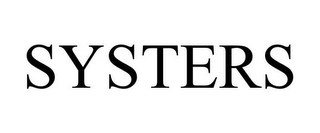 mark for SYSTERS, trademark #77108879