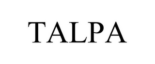 mark for TALPA, trademark #77109951