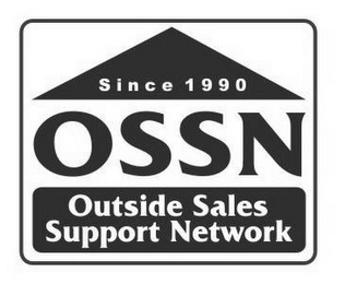 mark for SINCE 1990 OSSN OUTSIDE SALES SUPPORT NETWORK, trademark #77110607