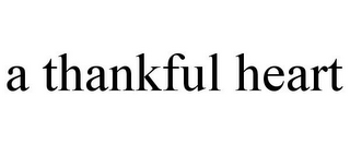 mark for A THANKFUL HEART, trademark #77113168