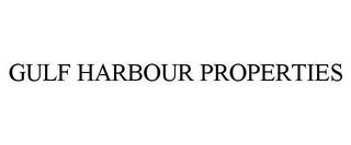 mark for GULF HARBOUR PROPERTIES, trademark #77114856