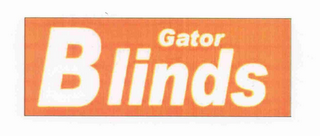 mark for GATOR BLINDS, trademark #77115625