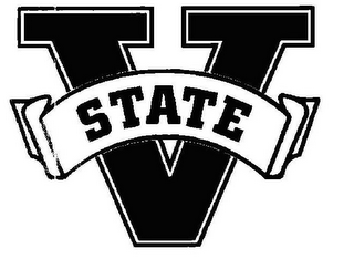mark for V STATE, trademark #77116690